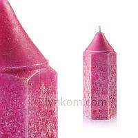 Малина-ваниль свеча ароматизированная декоративная 1 шт