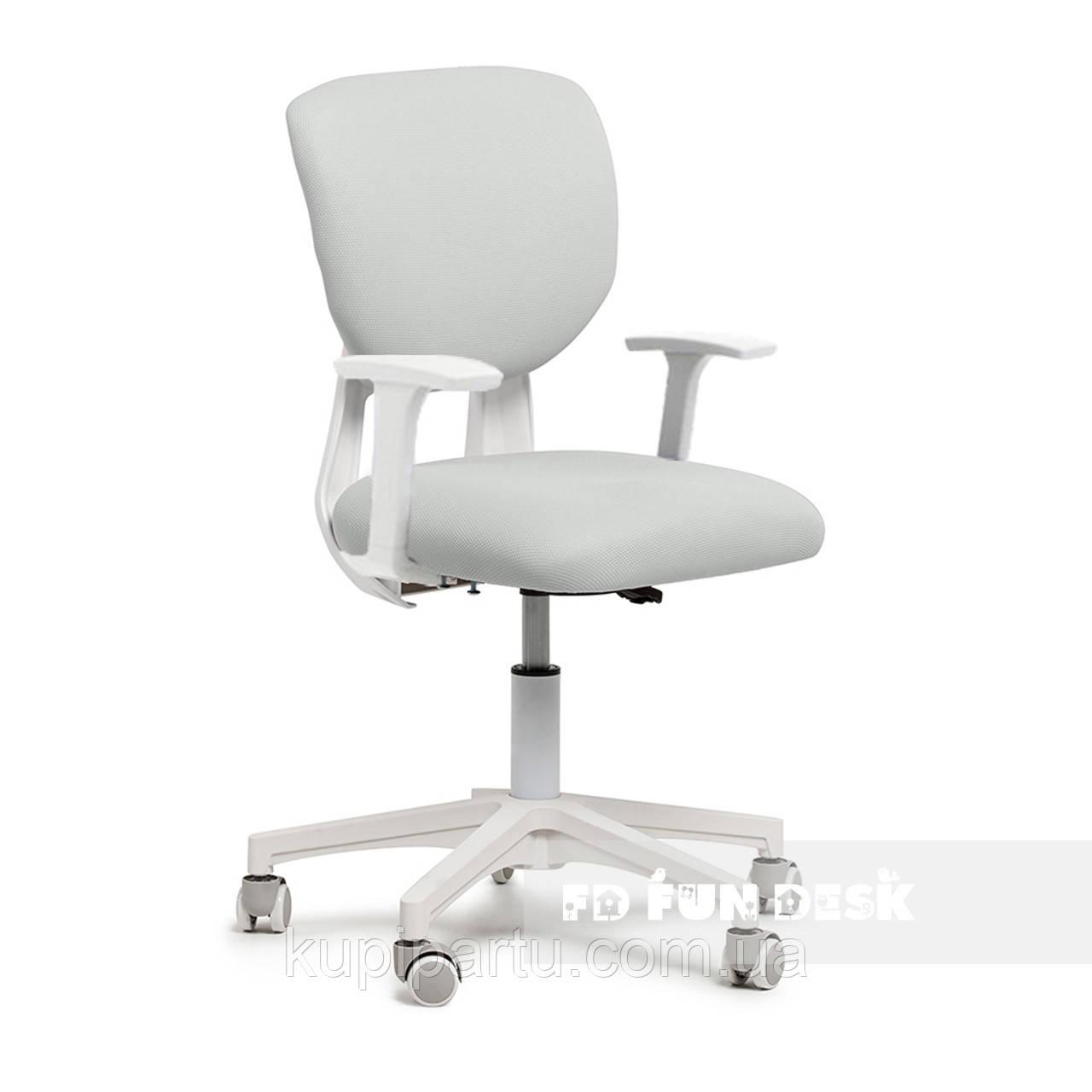 Детское эргономичное кресло Fundesk Buono Grey с подлокотниками