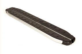 Geely Emgrand X7 Бічні пороги Fullmond (2 шт., алюміній)