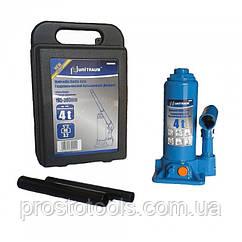 Домкрат бутылочный гидравлический 4т(кейс) Unitraum  UN90404S