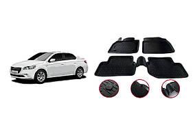 Peugeot 301 Гумові килимки (4 шт, Niken 3D)