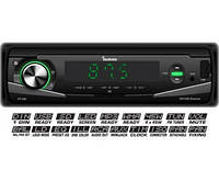 Автомагнитола FANTOM FP-300 Black/Green