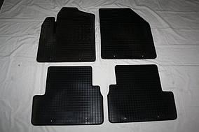 Ford Ranger 2011↗ гг. Резиновые коврики 2 шт (Stingray, резина)