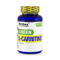 Л-карнитин FitMax Green L-Carnitine 60 caps л-карнитин для похудения, жиросжигатель