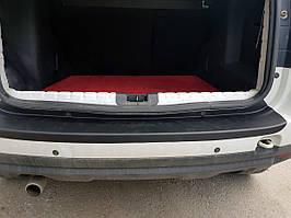 Nissan Terrano 2014↗ рр. Накладка на задній бампер EuroCap (ABS)