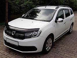 Dacia Logan III 2013↗ рр. Дефлектор капоту (EuroCap)