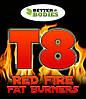 T8 Red Fire - убийца лишнего жира! Мощное похудение с первой же дозы применения!