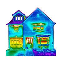 Обследование частного дома более 200 кв.м. тепловизором Flir T335 (Швеция)