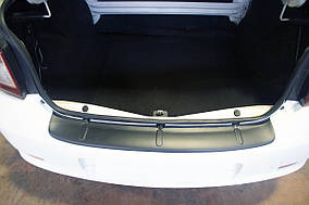 Накладка на задній бампер EuroCap (ABS) Renault Logan III 2013↗ рр.