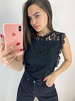 Женская блузка  гипюр (фабричный Китай)