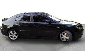 Mazda 3 2003-2009 гг. Ветровики SD (4 шт, HIC)