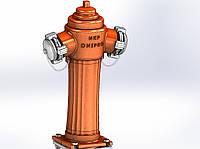 PGN-А. 01 Пожежний гідрант чавунний наземний PN 10/16, фото 1