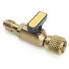 Кран заправочный 1/8'' на шланг (R12/R22/R134/R600 )