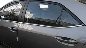 Toyota Corolla 2019↗︎ рр. Нижня окантовка (4 шт, нерж)