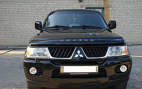Дефлектор капоту (VIP) Mitsubishi Pajero Sport 1996-2007 рр.