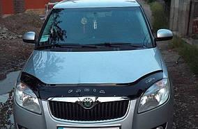 Skoda Roomster 2007↗ рр. Дефлектор капота 2007-2010 (VIP)