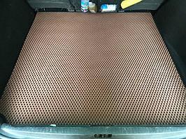 Renault Scenic/Grand 2009-2016 гг. Коврик багажника (EVA, кирпичный, 5 мест) Grand
