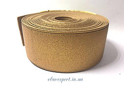 Резинка  взуттєва 40 мм, кол. бронза