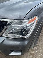 Nissan Patrol Y62 2010↗ рр. Передня оптика LED ОРИГІНАЛ (1 шт, б.у. 2019 рік)