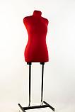 Манекен брючний кравецький червоний модель Любов, 42 розмір, фото 3