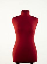 Манекен брючный портновский красный модель Любовь, 42 размер
