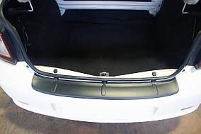 Dacia Logan III 2013↗ рр. Накладка на задній бампер EuroCap (ABS)