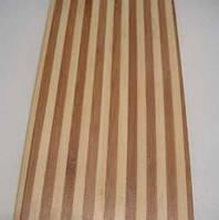Паркет Бамбук полосатый в лаке,полумат,широкая полоса