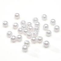 Бусины Жемчужные 14 мм Белые Упаковка 50 гр/36 шт, фото 1
