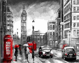 Картина за номерами (Вуличками Лондона) bk_1006
