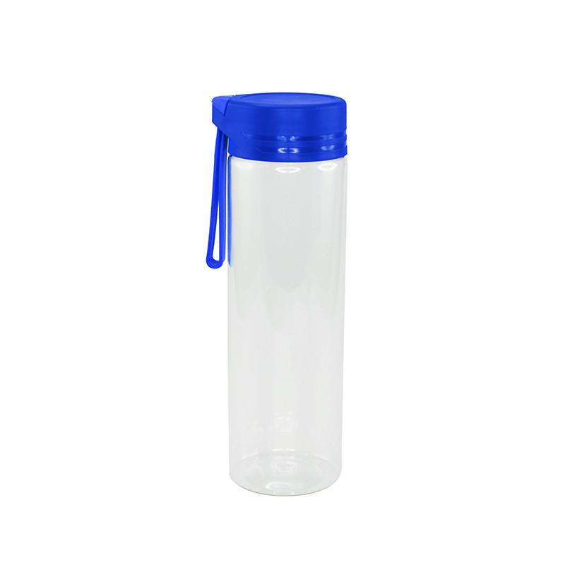 Пляшка для води Bergamo AQUA, тритановая, 620 мл (синій)