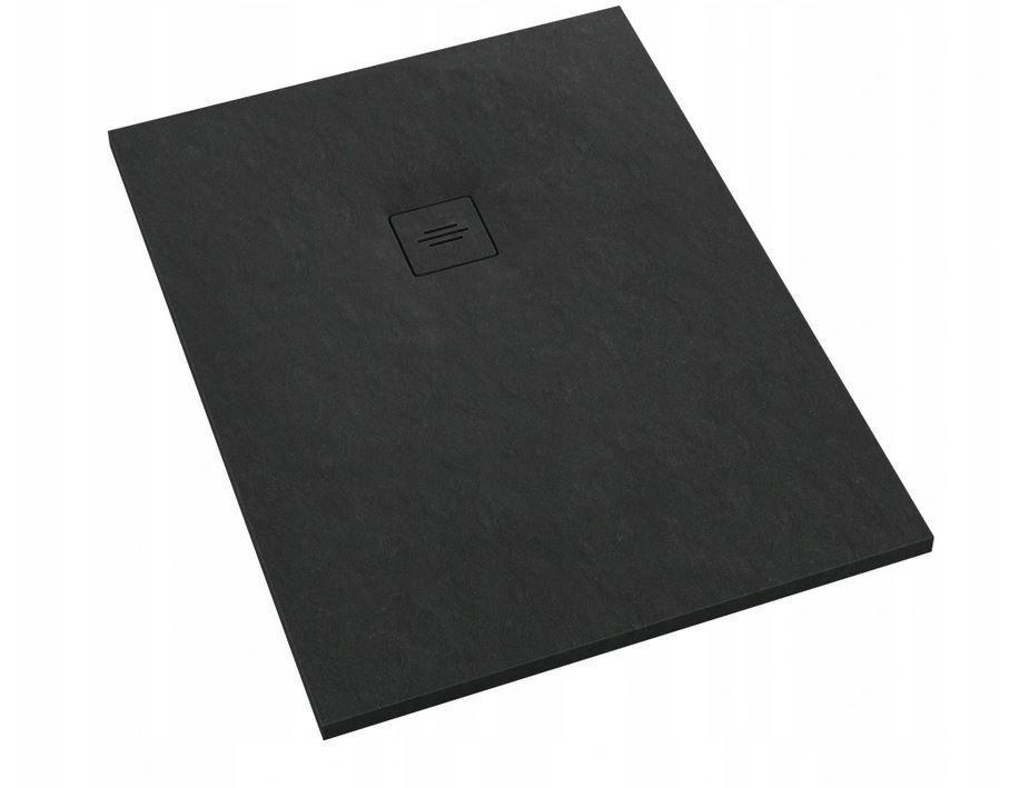 Піддон для душу Schedpol Schedline PROTOS Black Stone 100x80 см