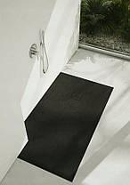 Піддон для душу Schedpol Schedline PROTOS Black Stone 100x80 см, фото 3