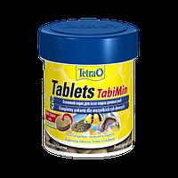 Корм для аквариумных рыб Tetra TabiMin 120 таблеток / 66 мл, корм для донных и пугливых рыб