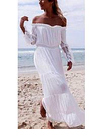 Пляжное платье с подкладкой