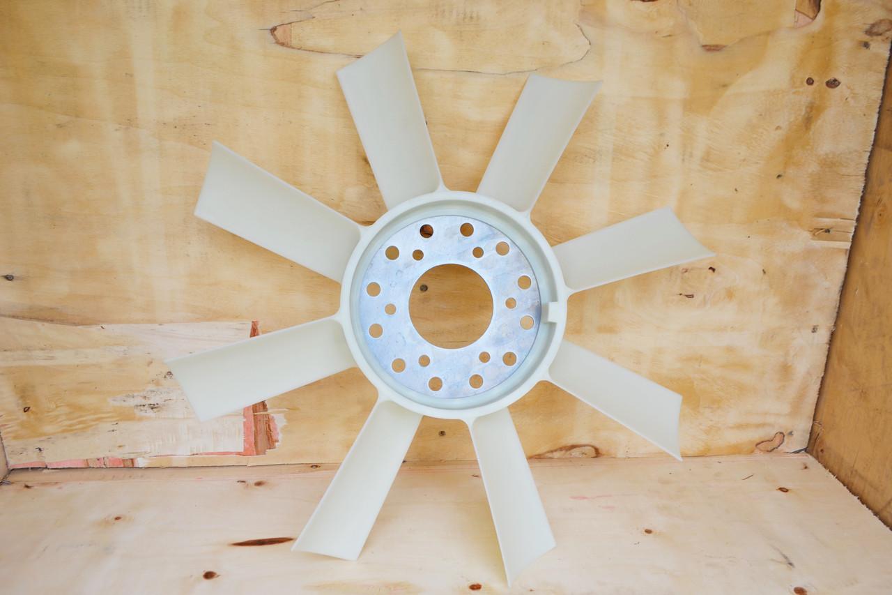Вентилятор (крыльчатка) трактора МТЗ. 8 лопастей. (Пластик).ИЖКС.632558.006 Оригинал (БЗА)