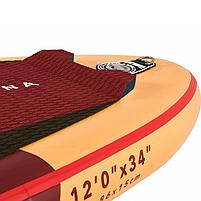 Сапборд Aqua Marina Atlas Advanced 12'0 2021 - надувная доска для САП сёрфинга, sup board, фото 4