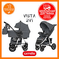 CARRELLO VISTA AIR CRL-6506 универсальная коляска 2 в 1 Steel Gray