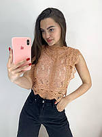 Женская блузка гипюр Фабричный Китай
