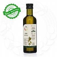 Конопляное сыродавленное масло в бутылке