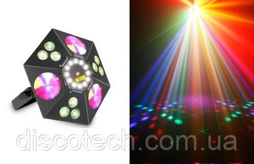 Световой LED прибор New Light VS-83 5 в 1 LED EFFECT LIGHT