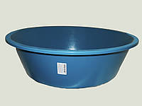 Тазик круглый низкий 25л (диам. 590 Ал-Пласт)