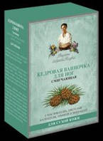 Рецепты бабушки Агафьи ванночка для ног Кедровая смягчающая 7 саше*40 мл