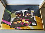 Комплект постельного белья ELWAY (Польша) 3D LUX Сатин Евро Подарочная упаковка (272), фото 2