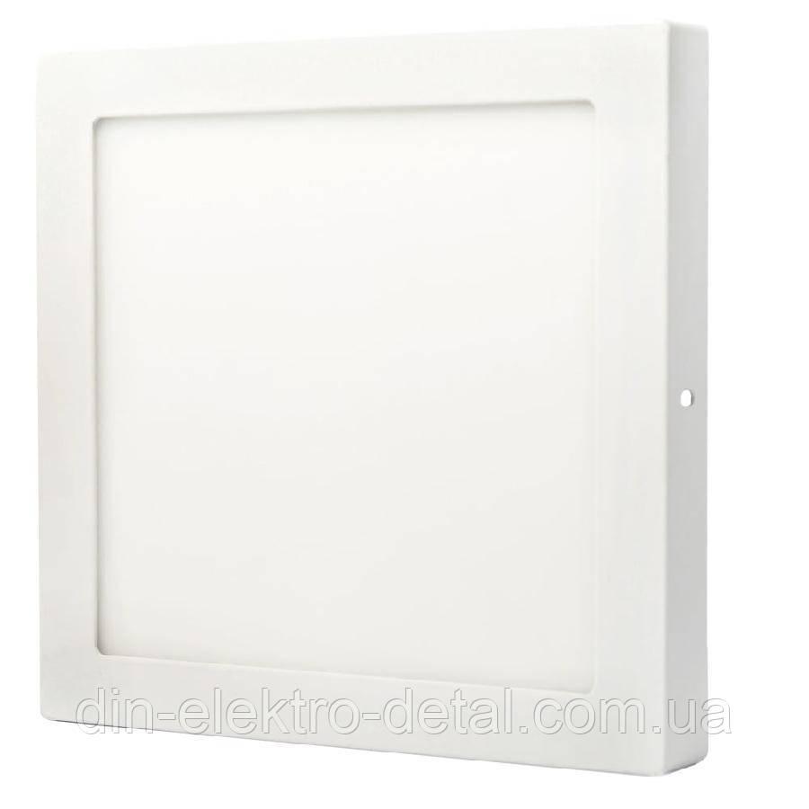 Світильник точковий накладної ЕВРОСВЕТ 18Вт квадрат LED-SS-225-18 6400К