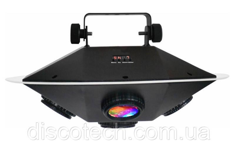 Світловий LED прилад Emiter-S A003 UFO STAGE LIGHT EFFECT