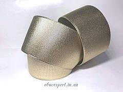 Резинка  взуттєва 80 мм, кол. золото
