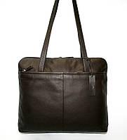 4-131.64 Портфель кожаный деловой женский под ноутбук