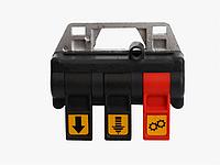 Пневматическая система пульт управления из кабины для гидравлики (трехсекционный)