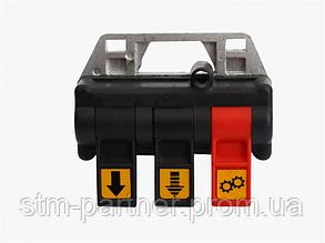 Пневматическая система пульт управления из кабины для гидравлики (трехпозиционный, код 66250250)