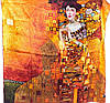 Женский изящный шелковый платок размером 85*85 см ETERNO (ЭТЕРНО) ES4040